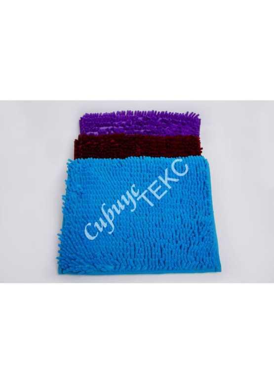 коврик  для ванной комнаты из микрофибры (красный)