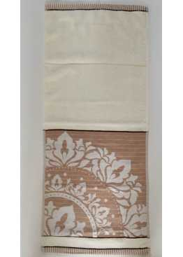 Полотенце махровое «Вензель» ручное