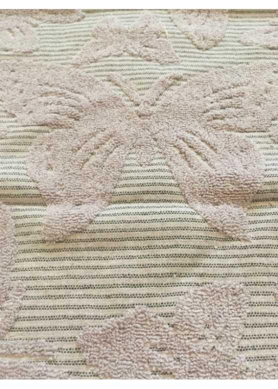 Полотенце махровое «Кленовый лист» ручное